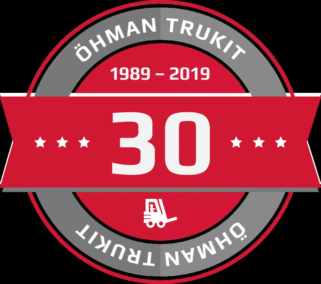 Öhman Trukit 30 vuotta.